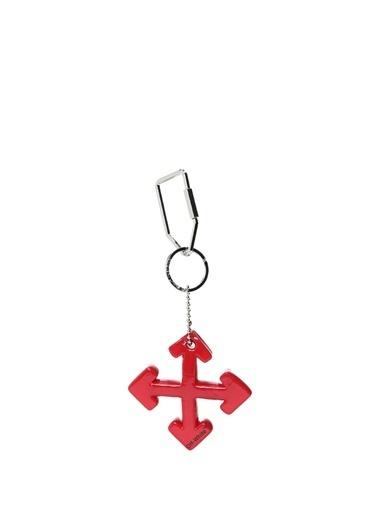 Off-White Anahtarlık Kırmızı